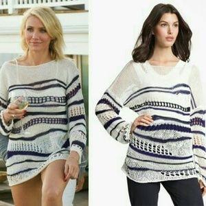 ISO Jean Paul Gaultier Fuzzi Striped Sweater